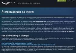 På Steam kan den som inte är nöjd få pengarna tillbaka.