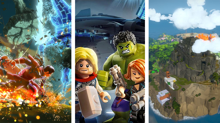 Avsnitt 140: Naruto Ultimate Ninja Storm 4, LEGO Marvels Avengers och The Witness