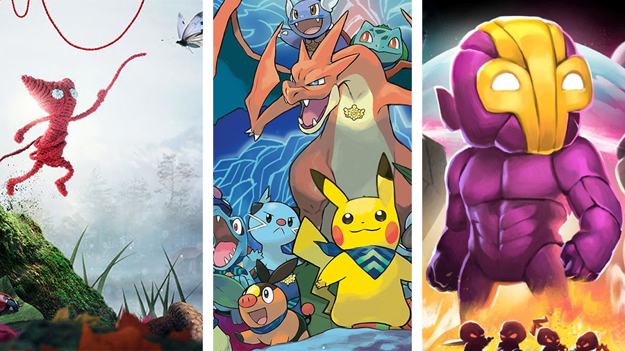 Avsnitt 141: Unravel, Pokémon Super Mystery Dungeon, Crashlands och Pepphörna