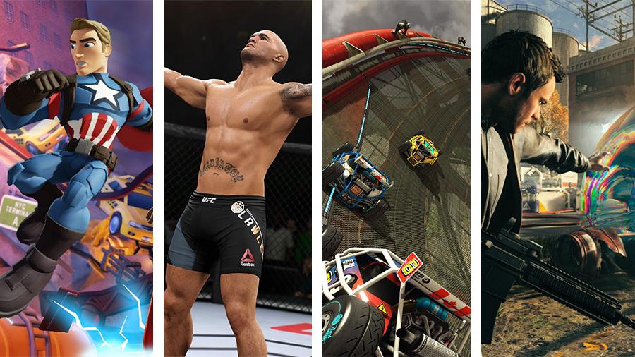 Avsnitt 148: Marvel Battlegrounds, EA Sports UFC 2, Trackmania Turbo och Quantum Break
