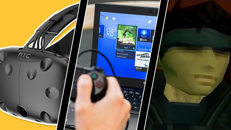 Vecka 15: Stökig Vive-release, Playstation-uppdatering och Snake i bilreklam