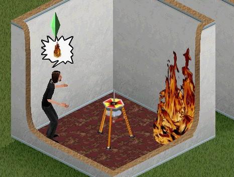 """""""Åh, hjälp det brinner va?!"""""""