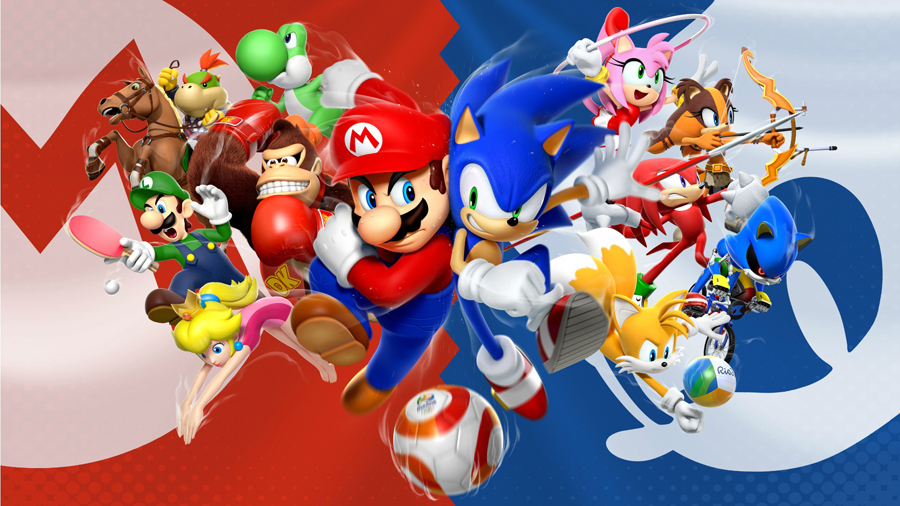Mario and Sonic at the Rio 2016 Olympic Games