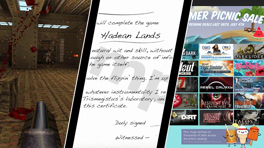 Vecka 26: MachineGames Quake-episod, PDF som DLC och Steams sommarrea