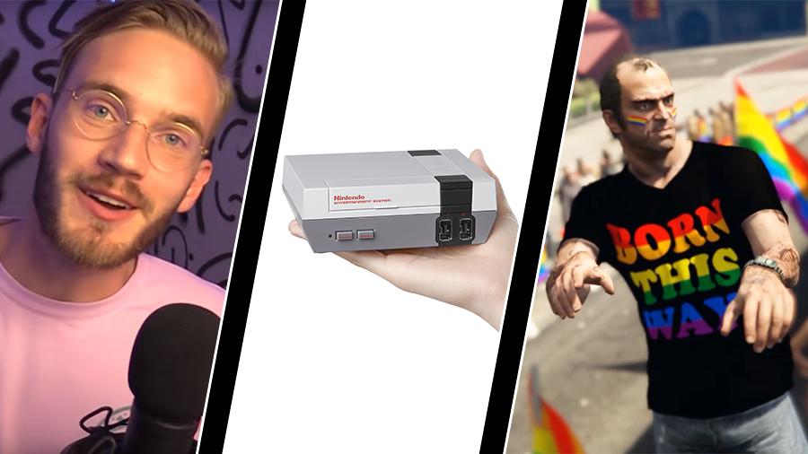 """Vecka 29: Youtubers gjorde smygreklam, Nintendo släpper """"mini-NES"""" och Los Santos Pride"""