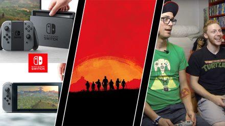 Vecka 43: Nintendo Switch, Red Dead Redemption 2 och Revansch-avsked