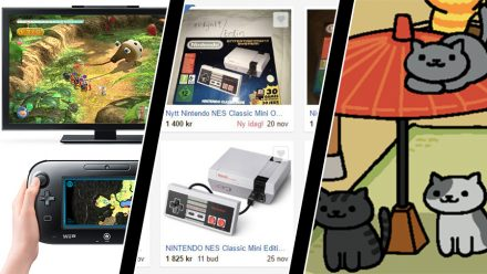 Vecka 46: Tillverkningsstopp för Wii U, ockerpriser för NES Mini och Neko Atsume-film