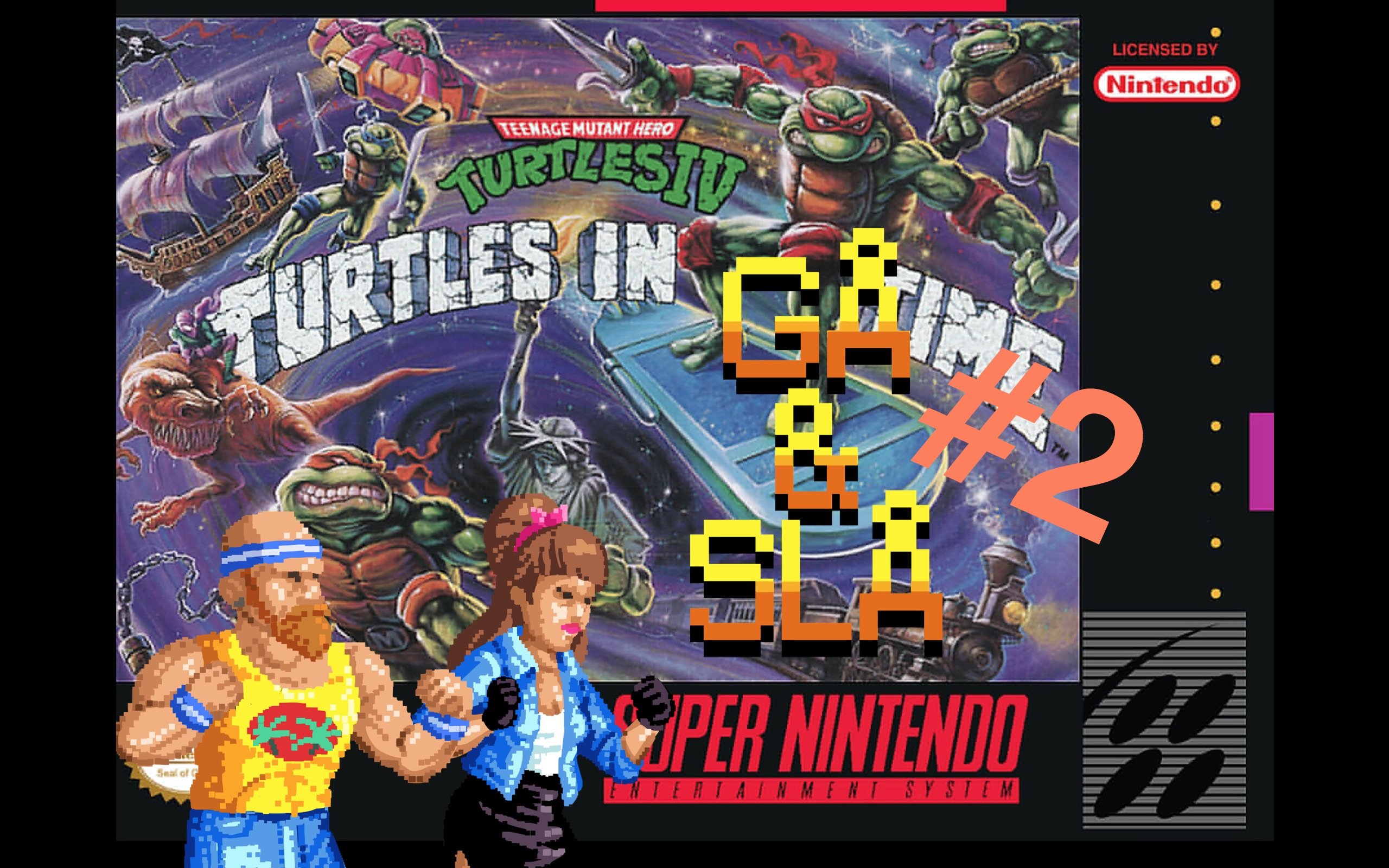 Avnsitt 2: TMNT IV Turtles In Time