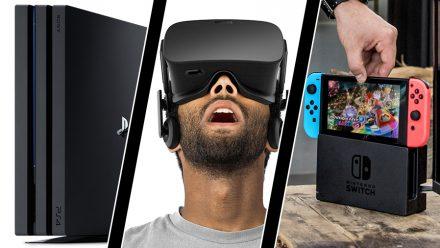 Playstation 4 får boost mode, Oculus-skadestånd och höga Switch-förväntningar
