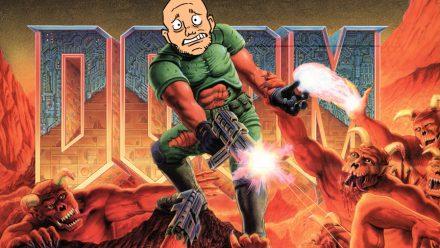 Tobbe tar sig an gamla Doom