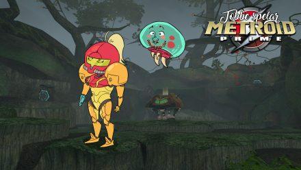 Tobbe spelar Metroid Prime, del 1