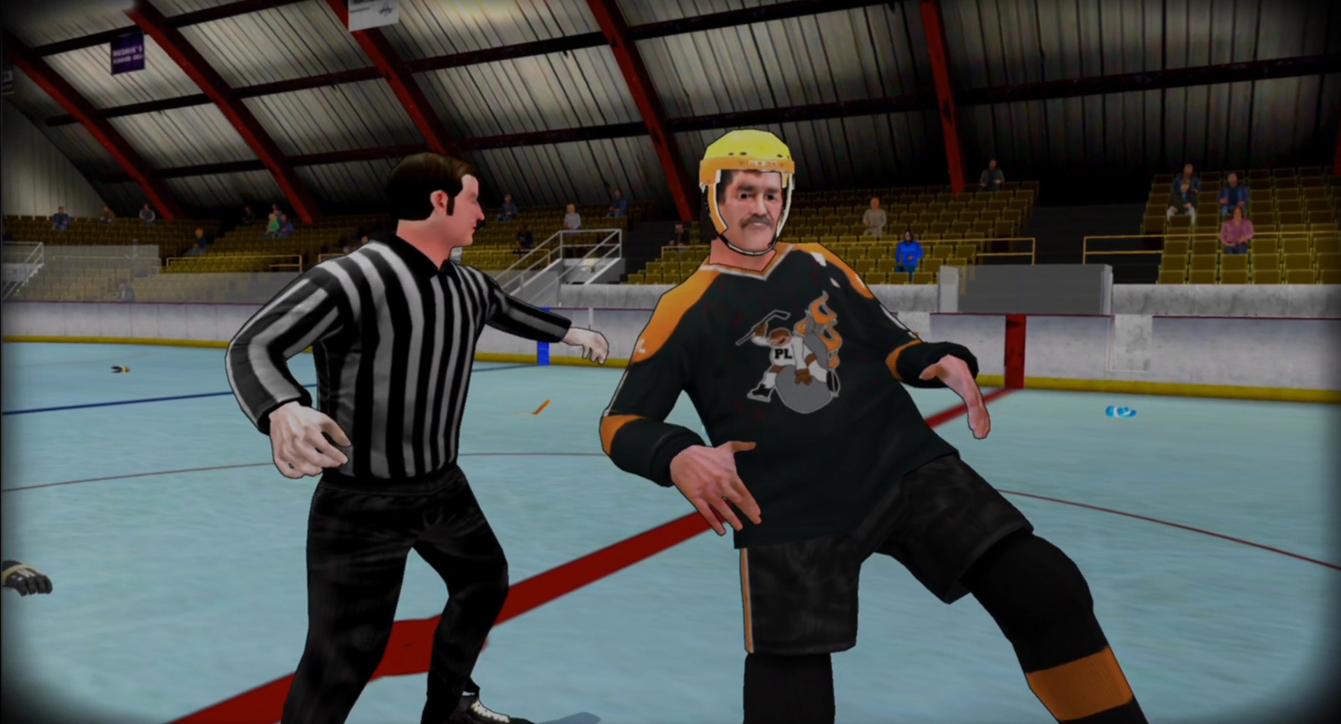 Old Time Hockey (Playstation 4)