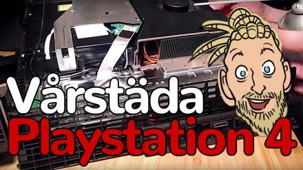 Guide: Så vårstädar du din Playstation 4