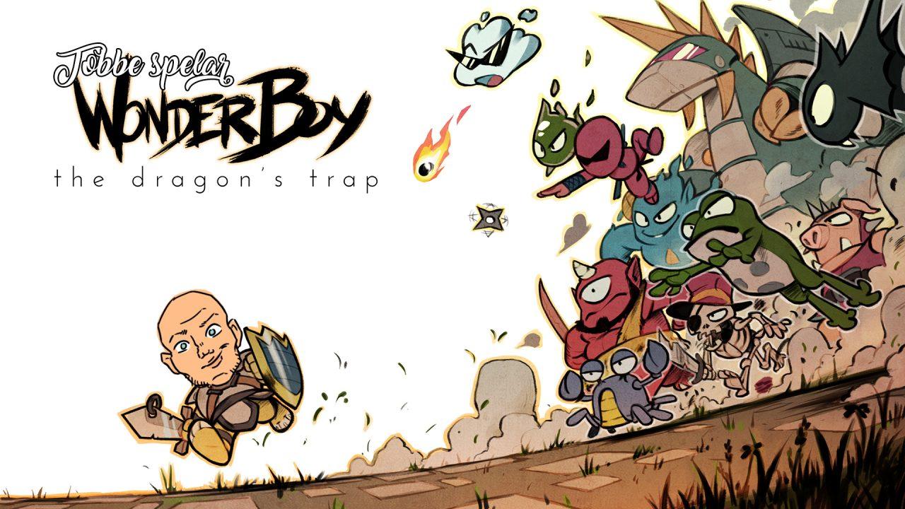 Tobbe spelar Wonderboy: The Dragons Trap