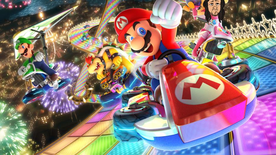 Mariokart 8 Deluxe-stream