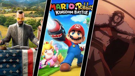 Far Cry 5-detaljer, Mario + Rabbids-läcka och första Castlevania-trailern