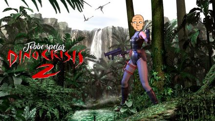 Tobbe spelar Dino Crisis 2