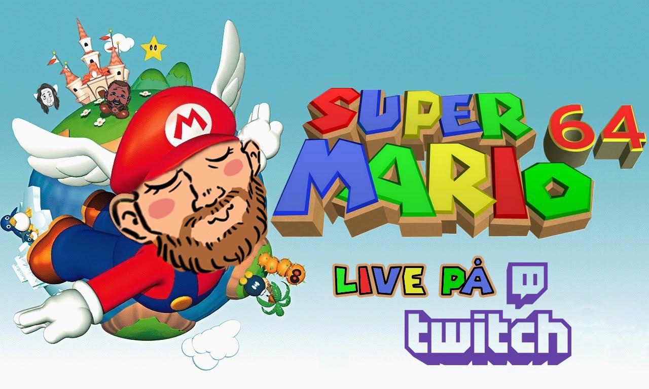 Super Mario 64-stream