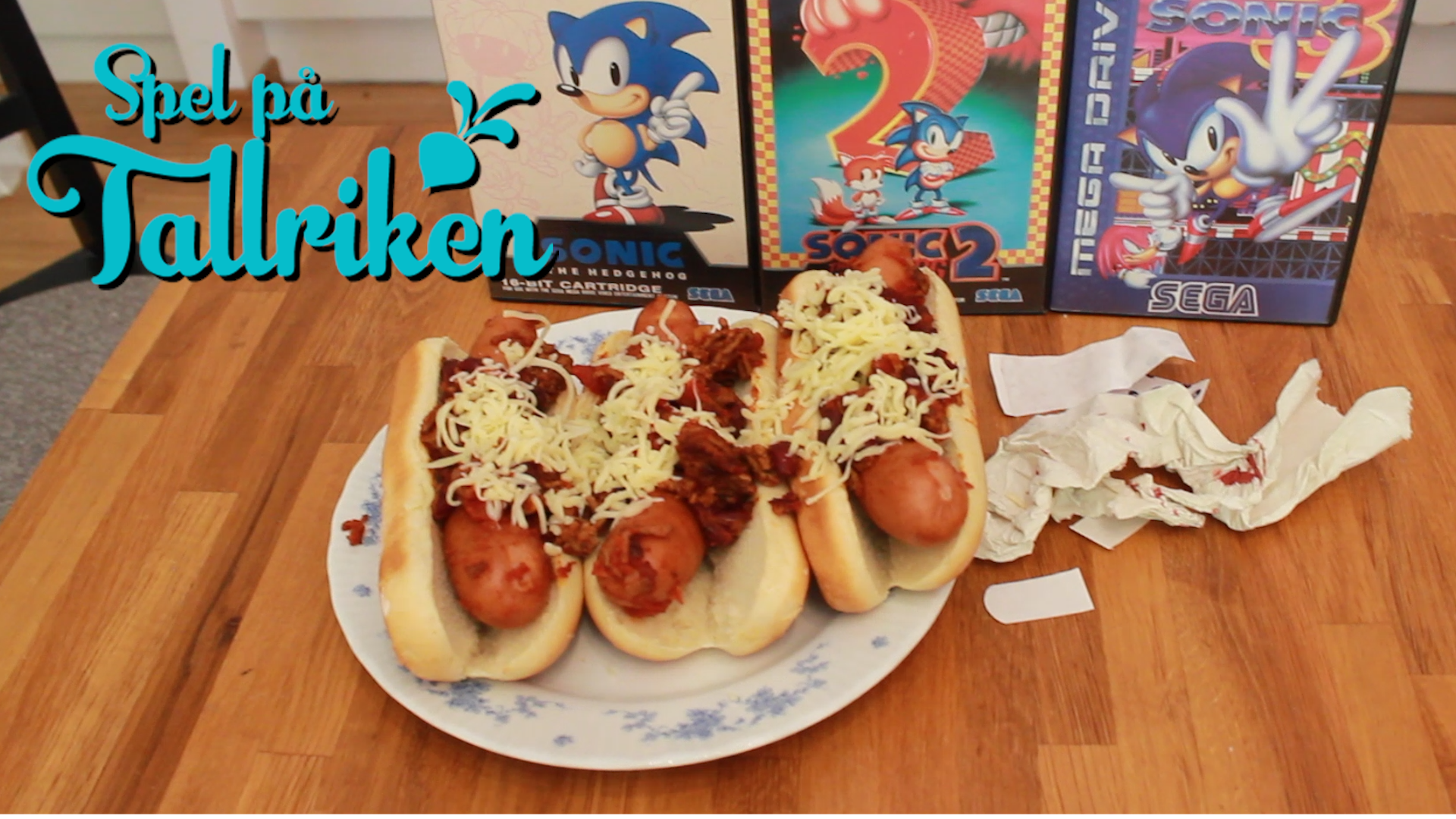 Chili Dogs (från Sonic the Hedgehog)