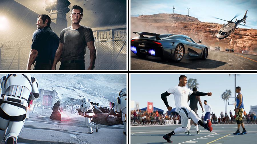 E3 på distans – EA