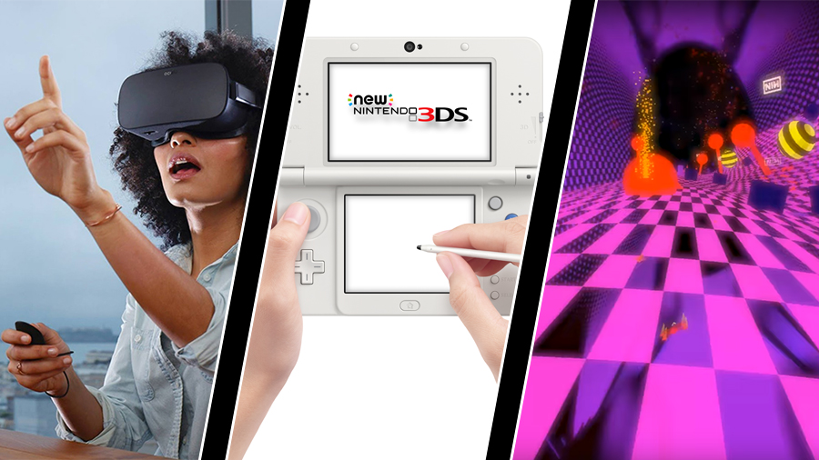 Nytt Oculus-headset, New 3DS-stopp och Nine Inch Nails-video