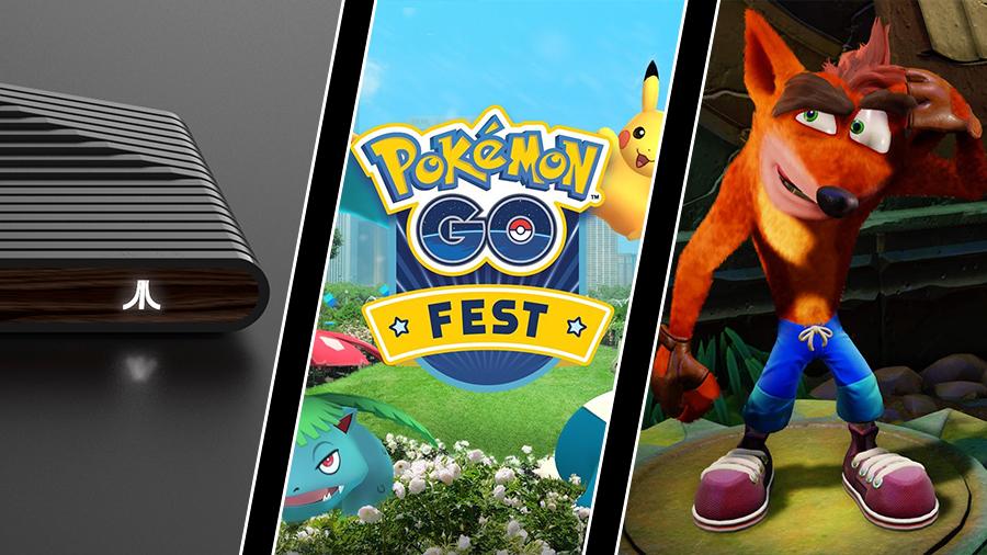 Ataribox-bilder, Pokémon Go-fiasko och Crash Bandicoots svåra hopp