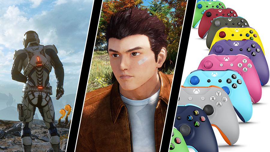 Shenmue 3 får utgivare, Mass Effect tar slut och Xbox Design Lab kommer till Sverige