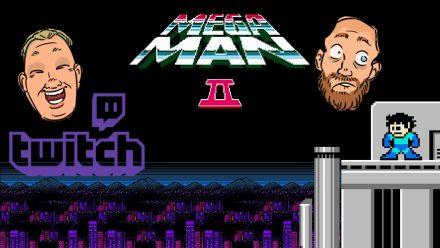 Ludde spelar Mega Man 2