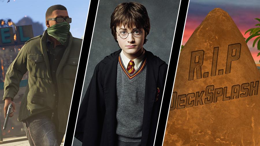 GTA 5 bäst säljande spelet i USA, Niantic gör Harry Potter-spel och Decksplash läggs ner efter missat mål