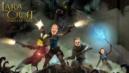 Svampriket streamar Lara Croft and the Temple of Osiris