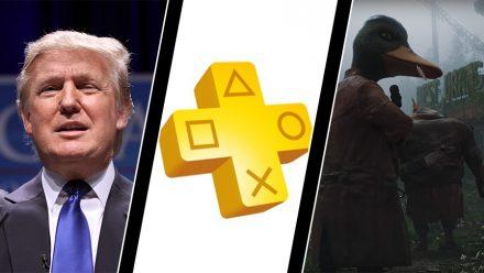 Trump vill träffa spelbranschen, PS Plus dumpar PS3 och Vita – och Mutant som dataspel