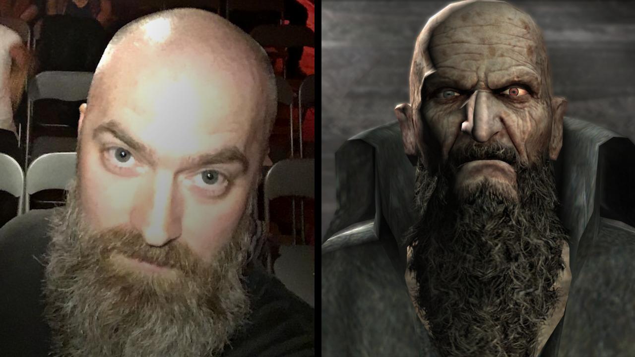 Spelkaraktärer som ser ut som Jesper