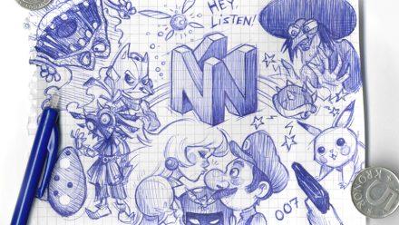 Svamppod Sommar: Nintendo 64