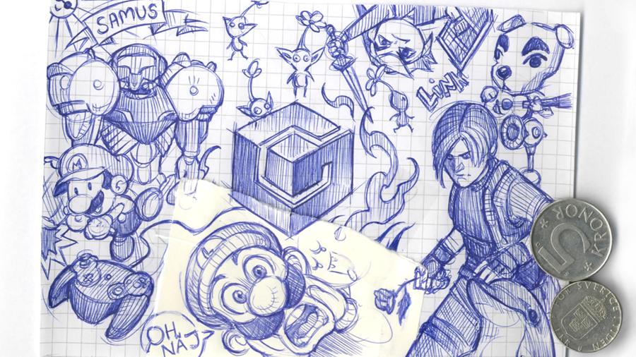 Svamppod Sommar: Gamecube