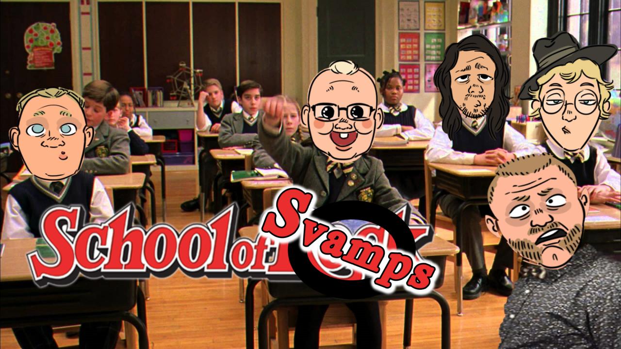 Stream – School of Svamps – Fredag 20:00