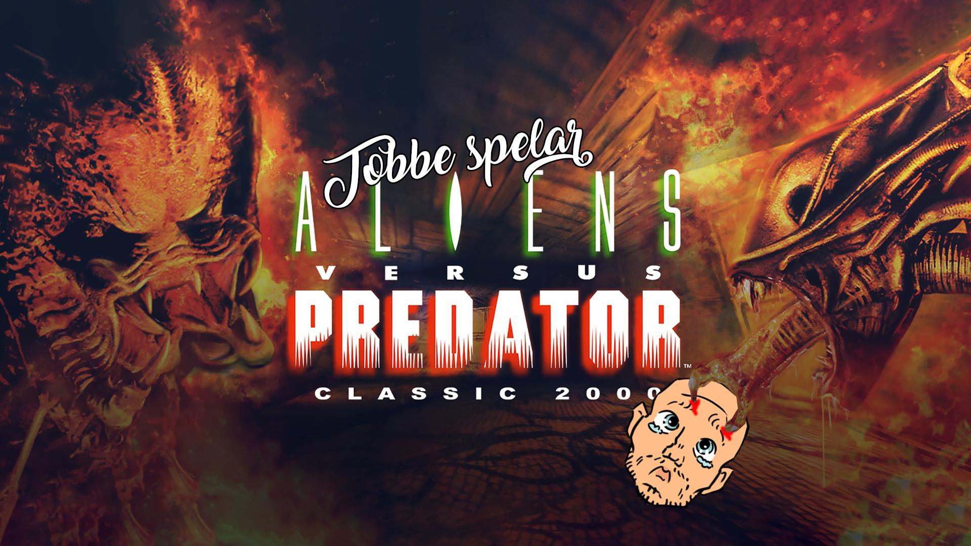 Tobbe spelar Aliens vs Predator Classic