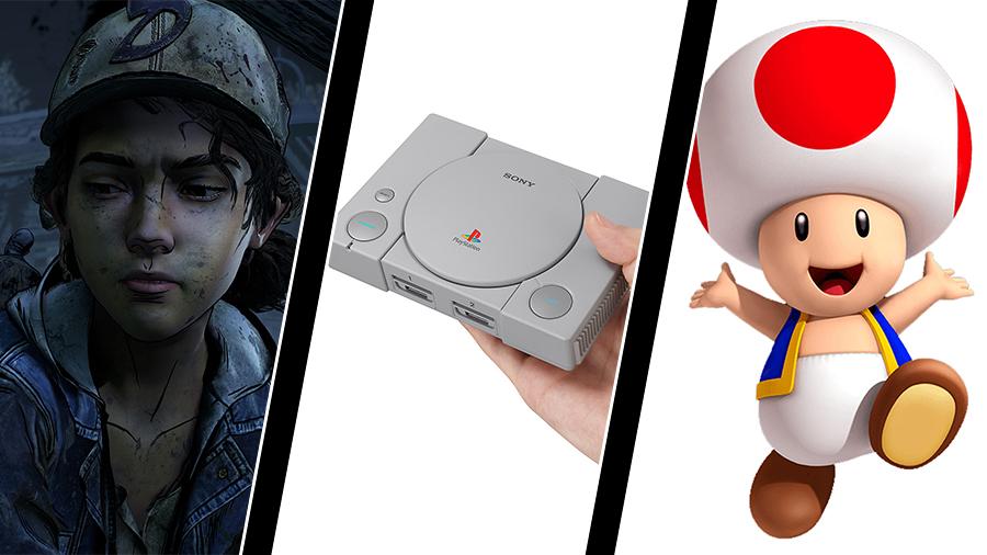 Telltale-uppsägningar, Playstation Classic – och Trumps Toad-dutt