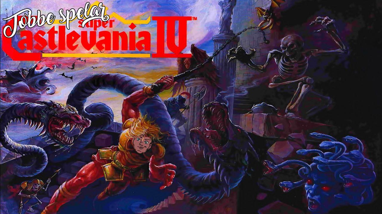 Tobbe spelar Super Castlevania 4