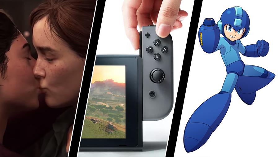 HBTQ-pris för spel, ny Switch-modell – och Mega Man-film