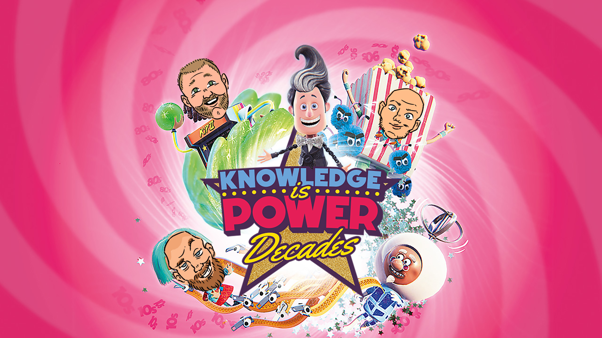 Quicktitt: Knowledge is Power: Decades (PS4)