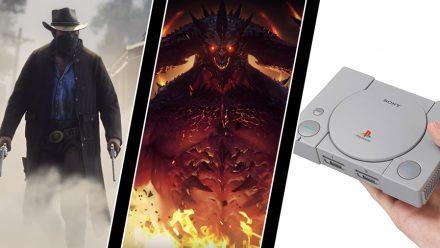 Miljondonation för Red Dead-läcka, mobil Diablo-ilska – och hela Playstation Classic-listan