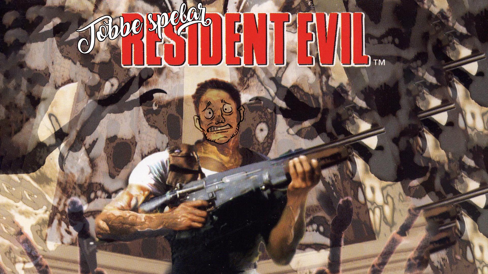 Tobbe spelar Resident Evil