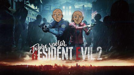 Tobbe spelar Resident Evil 2 Remake