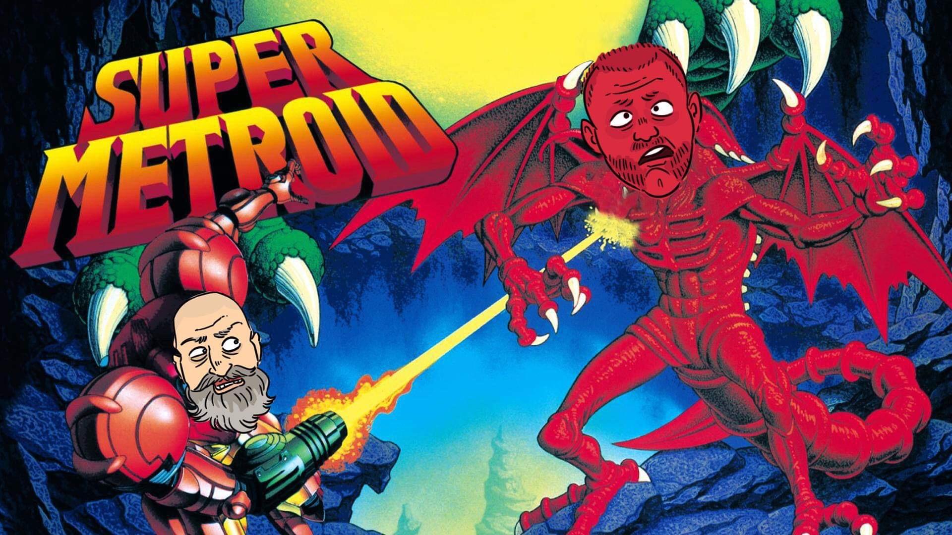 Jesper och Glenn spelar Super Metroid