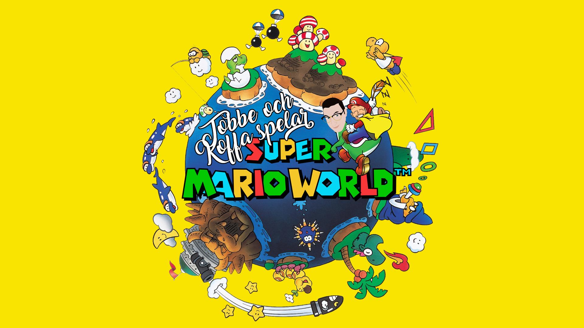 Tobbe och Koffa spelar Super Mario World