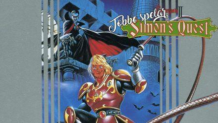 Tobbe spelar Castlevania 2: Simon's Quest