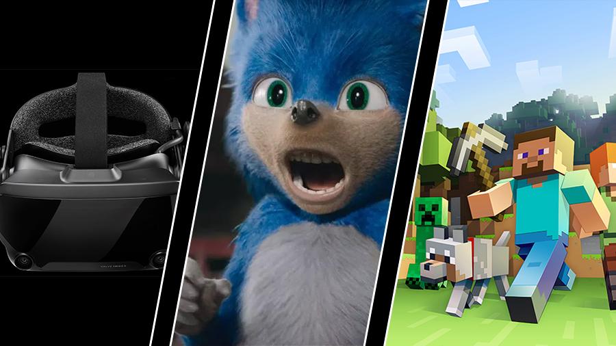 Valve släpper nytt VR-headset, Sonics design ändras – och Notch inte bjuden på Minecraft-kalas
