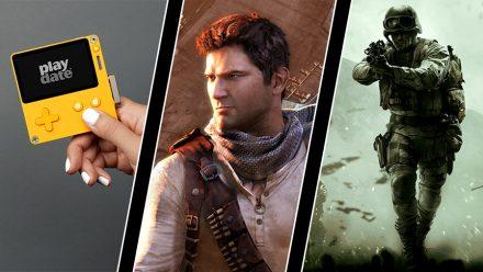 Pytteliten konsol med vev, Playstation-spel blir film – och årets Call of Duty-namn
