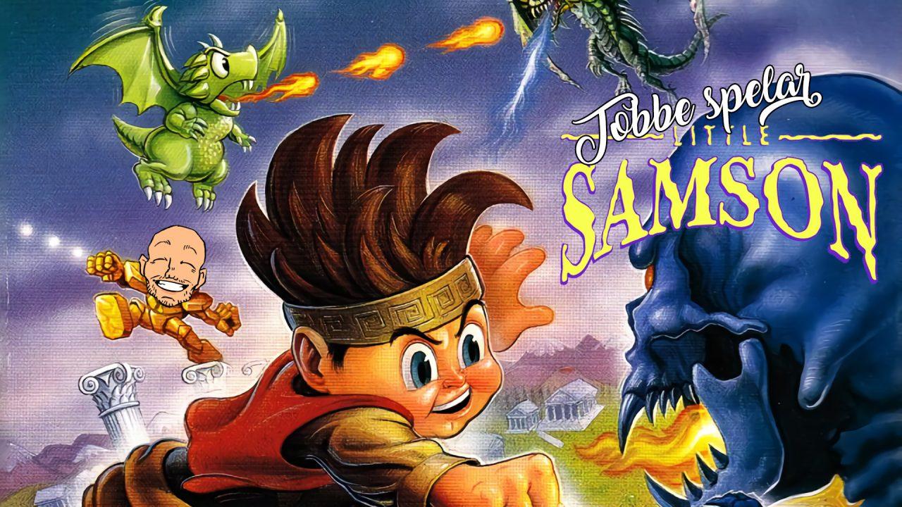Tobbe spelar Little Samson (NES)