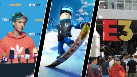 Ninja blir Mixer-exklusiv, Roblox större än Minecraft – och E3 läckte personuppgifter